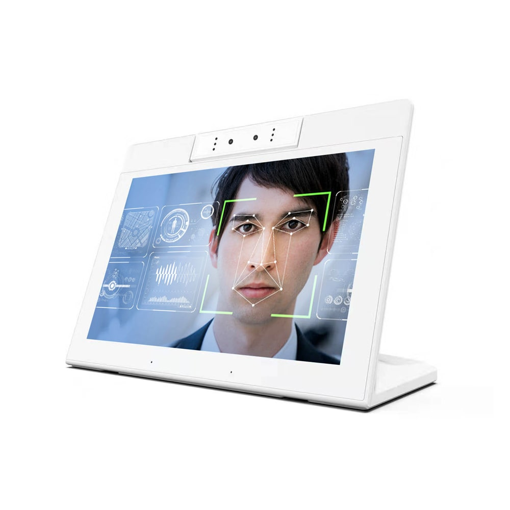 10.1inch standing tablet with POE & NFC