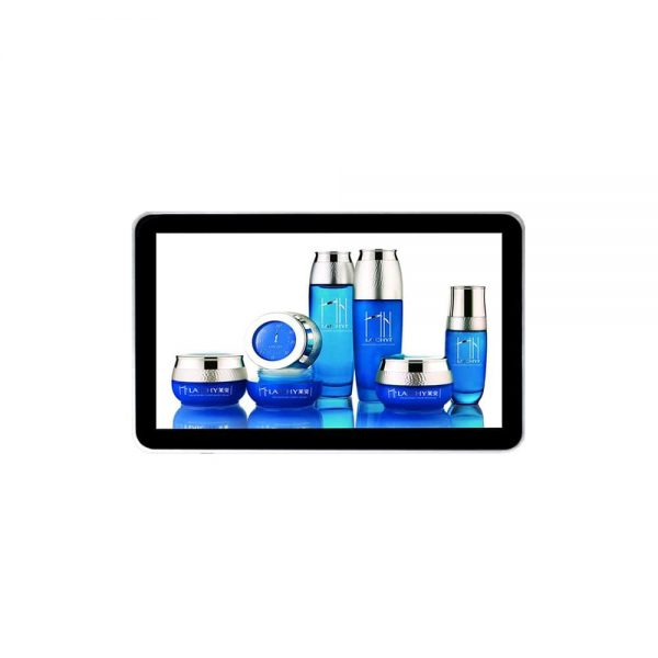 Window linux 23.6inch wall hanging LCD digital signage display
