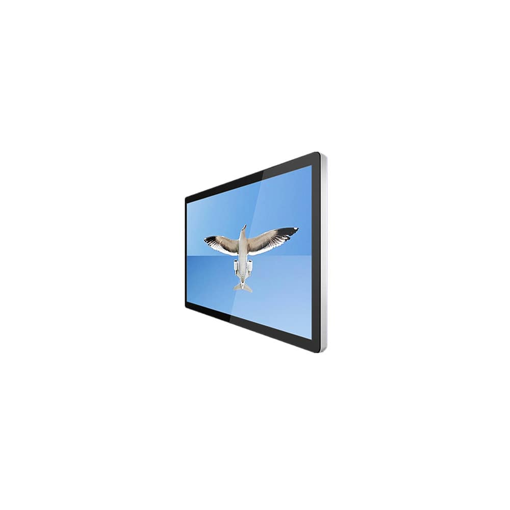 Indoor 27 inch wall mounted lcd digital signage android wifi advertising display