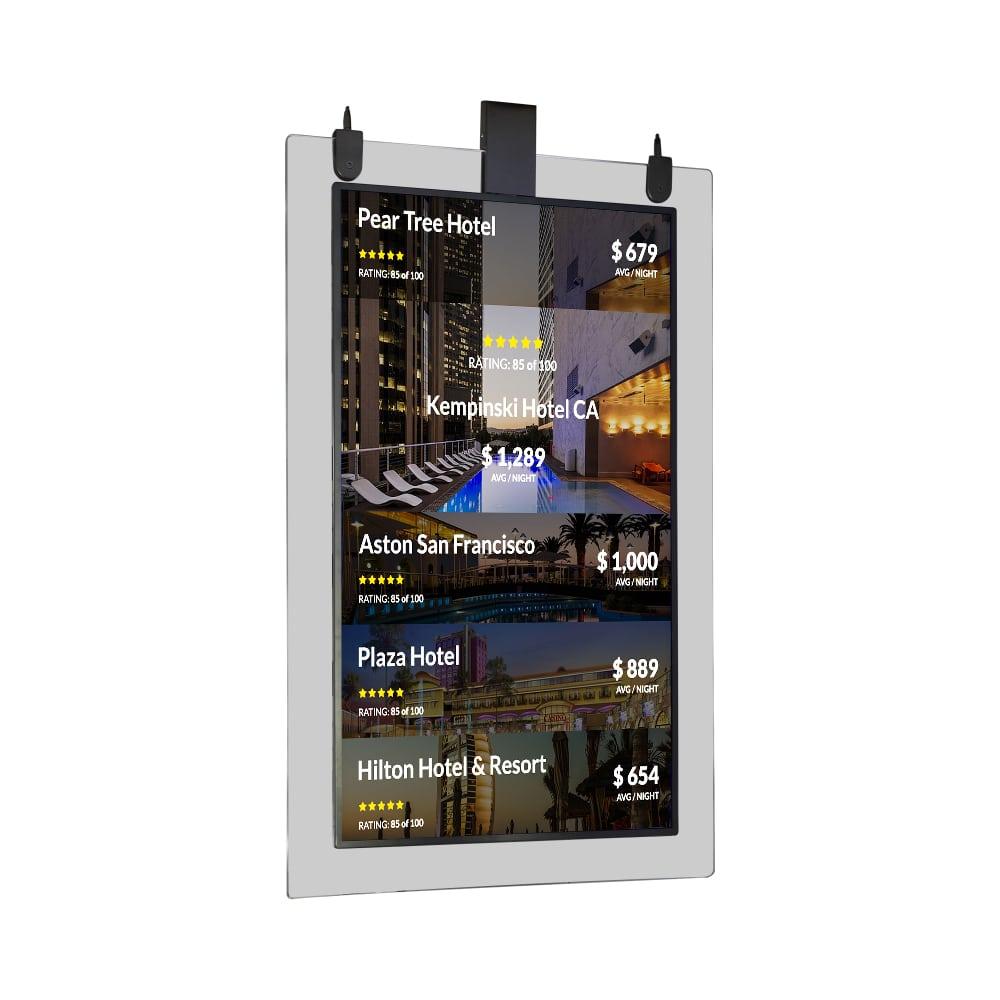 ultra thin transparent display